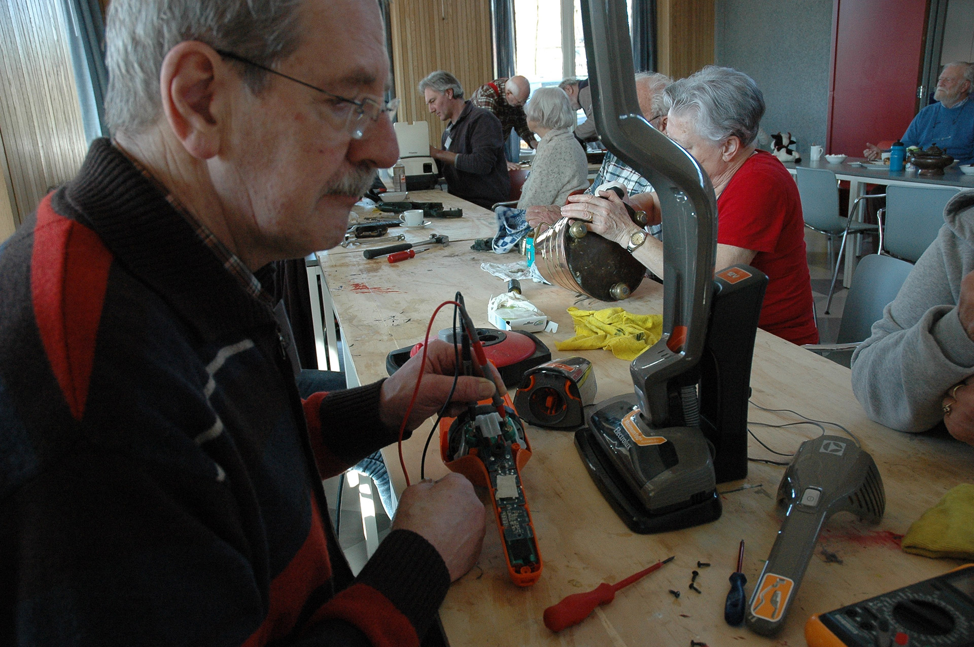 Repair Café elektrische apparaten