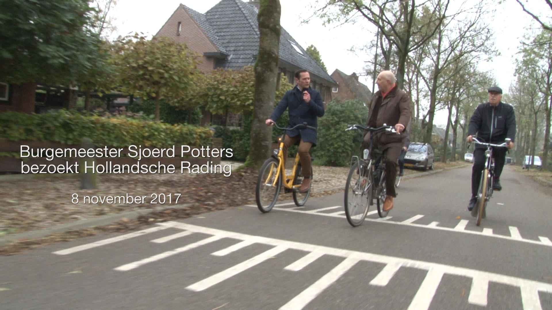 Sjoerd Potters in Hollandsche Rading