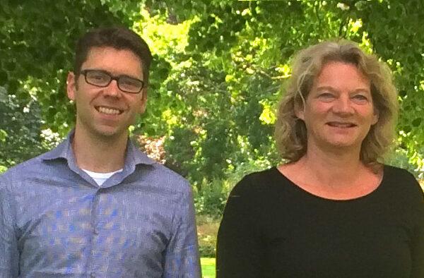 Bas van Hell en Lianne Oosterlee