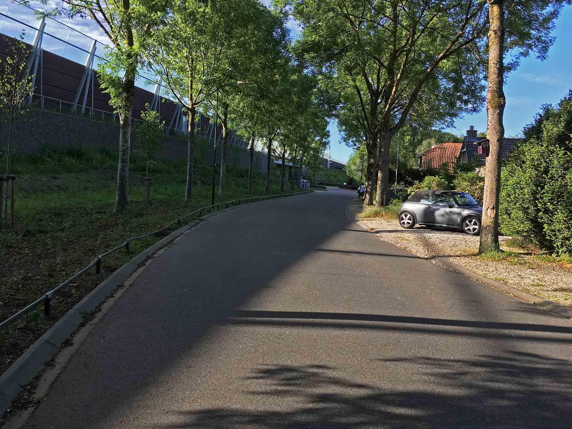 Hollandsche Rading, Spoorlaan