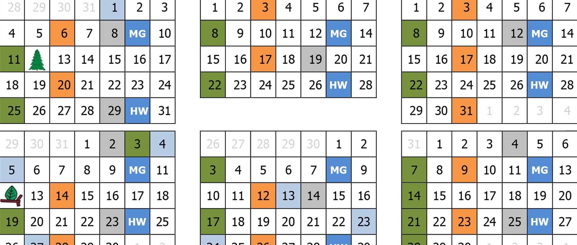 Afvalkalender 2021
